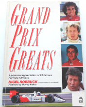 GRAND PRIX GREATS (Nigel Roebuck1989)  SOFTBACK